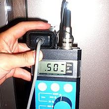冷蔵庫からの電磁波は500V/m