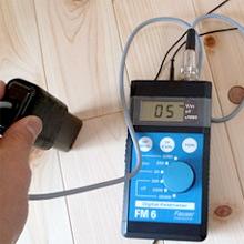 床からの電磁波は5V/m